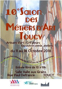 Salon métiers art toucy 2018 orig